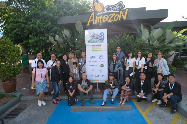 NLEX Lakbay Norte 8 Team at Cafe Amazon photo by Mac Dillera : NPVB