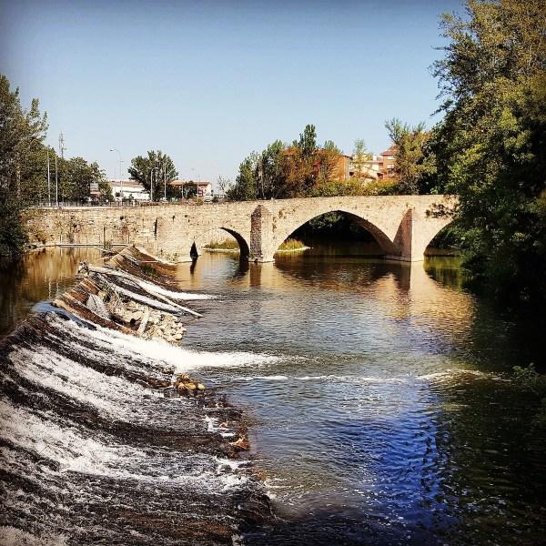 Old Stone Bridge Pamplona