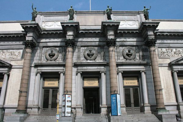 Royal Museums of Fine Arts of Belgium by Michel Wal via Wikipedia CC