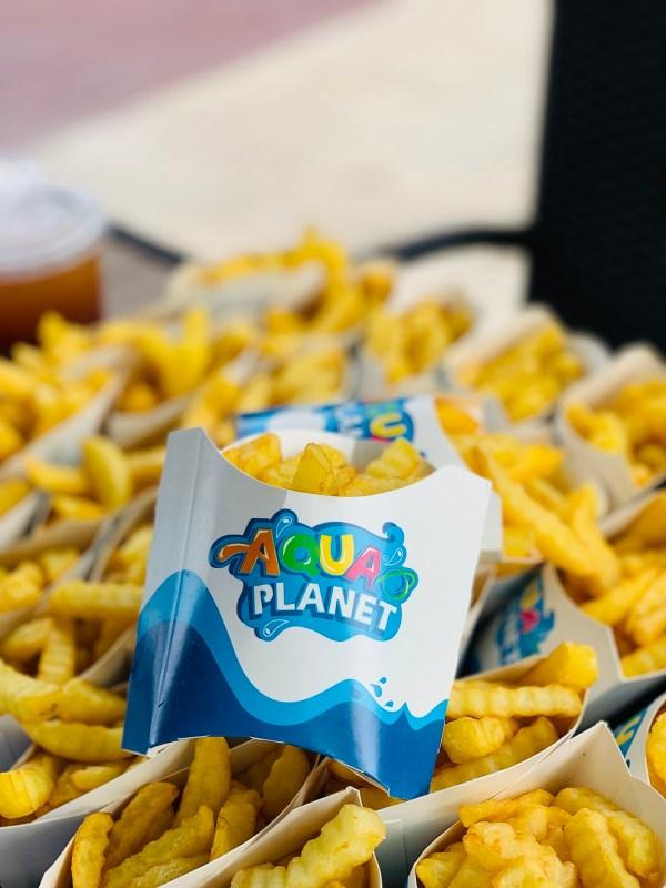 Snacks at Aqua Planet