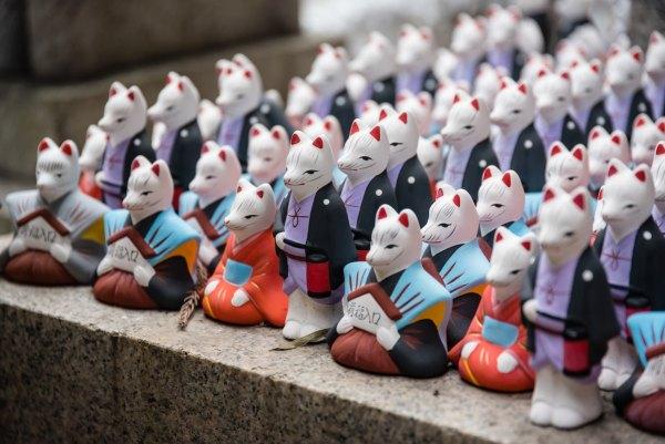 Souvenirs from Fujimi Inari-taisha, Kyoto, Japan by Luca Florio via Unsplash