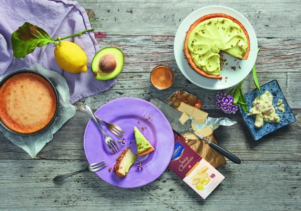 Vegan Lemon and Avocado Cheescake
