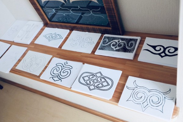 Ainu Woodcarving Patterns