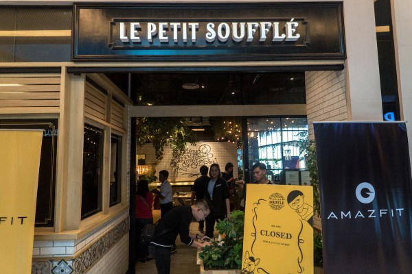 Amazfit Launch at Le Petit Souffle in Makati City