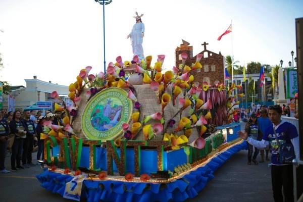 Cavinti, Laguna's Float at the Anilag Festival Float Parade. Photo from Anilag Festival FB Page