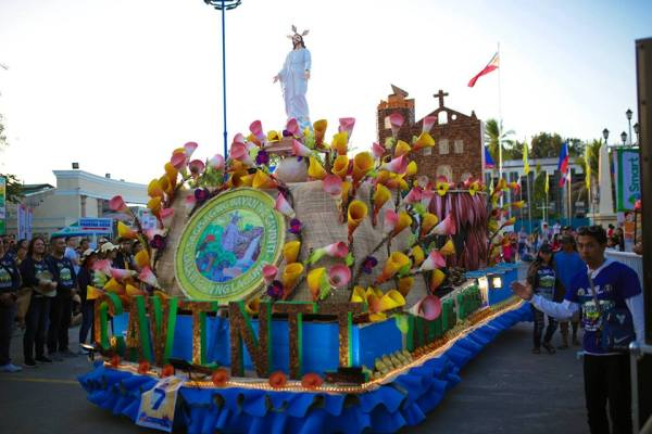 Cavinti, Laguna's Float at the Anilag Festival Float Parade. Photo from Anilag Festival FB Page