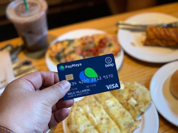 Coffee Break at Starbucks Camp John Hay using PayMaya