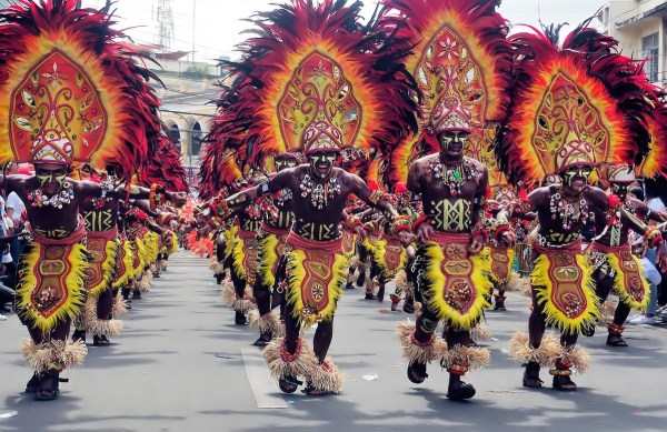 Dinagyang Festival in Iloilo City