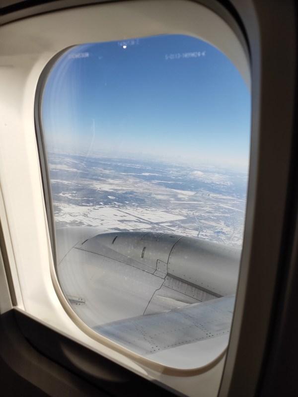 Flight to Hokkaido via Japan Airlines
