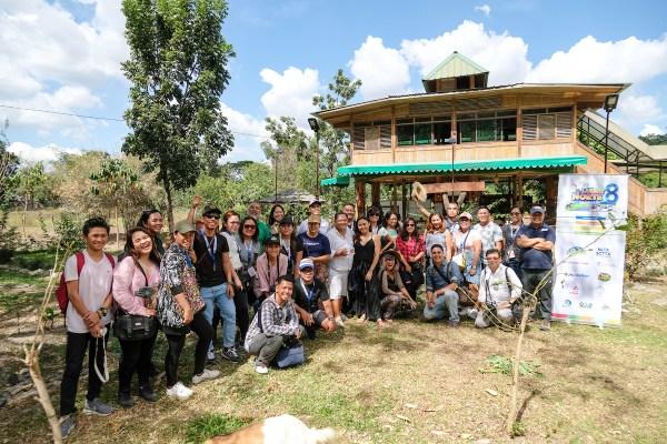 Lakbay Norte 8 Team at Tibby's Farm photo by Mac Dillera