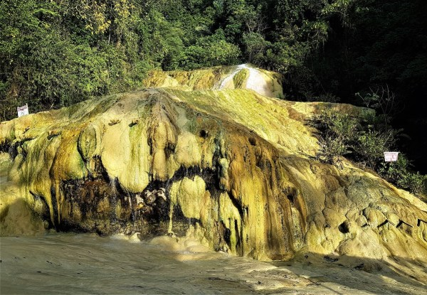 Mainit Sulfuric Hot Spring in Compostela Valley