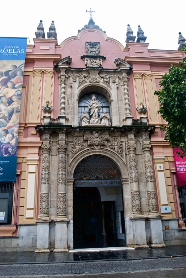 Museo de Bellas Artes Seville by Annual via Wikipedia CC