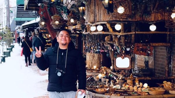 Stopover for Souvenir Shopping - Ainu Village