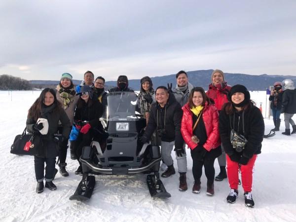 Team Philippines in Hokkaido