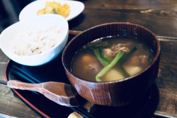 Yuku Ohau Ainu Soup Dish