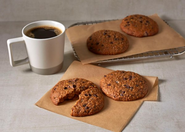 Banana Chocolate Chia Cookie