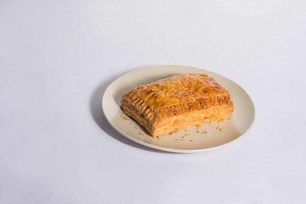Cheesy Chicken Sausage Turnover