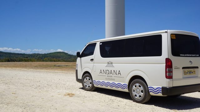 Van rentals to and from anywhere in Guimaras are offered by Andana Resort