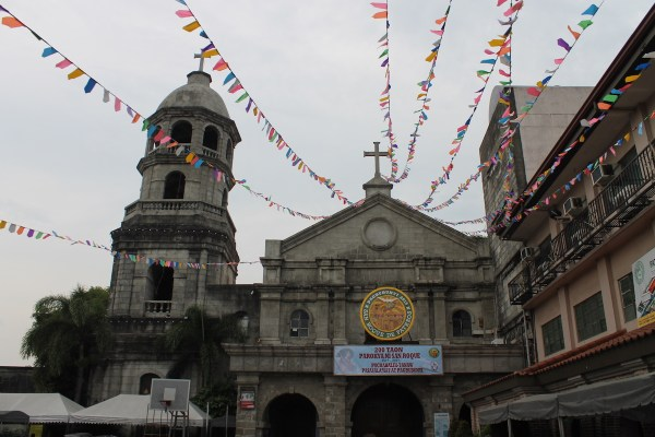San Roque Parish Church. Image by Wikipedia