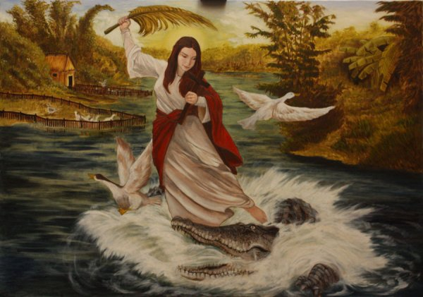 The miracle of Sta. Marta in Pateros