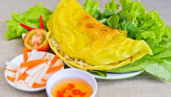 Vietnamese Southern Pancake