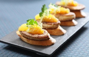 add@Prince Pan-fried Duck Liver with Orange Jam on Toast