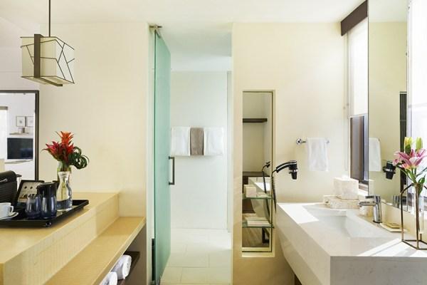 Ванная комната полулюкса