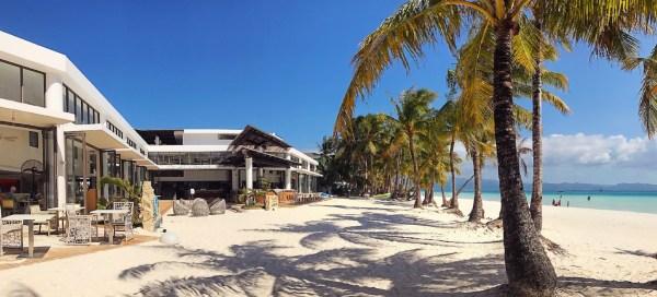 Discovery Shores Boracay's sprawling beachfront. Photo by Matthew Gomez