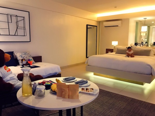 Welcome to our Junior Suite, peppered with thoughtful treats from the resort. Photo by Matthew Gomez