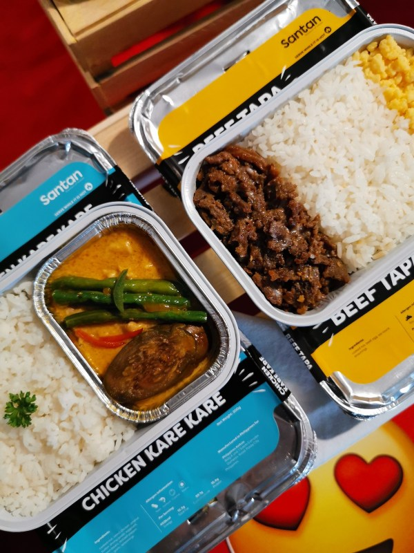 AirAsia Santan Celebrity Chef Series meal