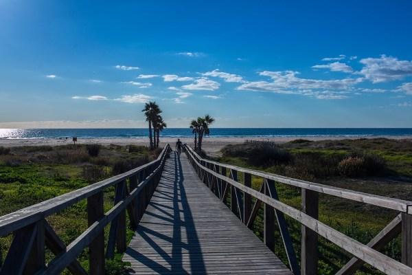 Beaches in Cadiz Spain