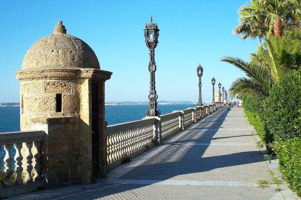 Cadiz Spain Baywalk