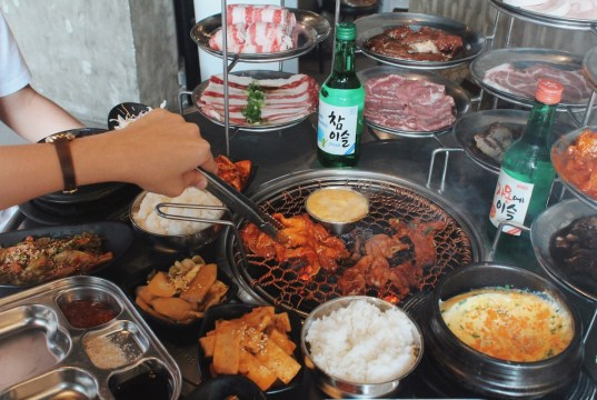 Fantastic Korean BBQ Grill