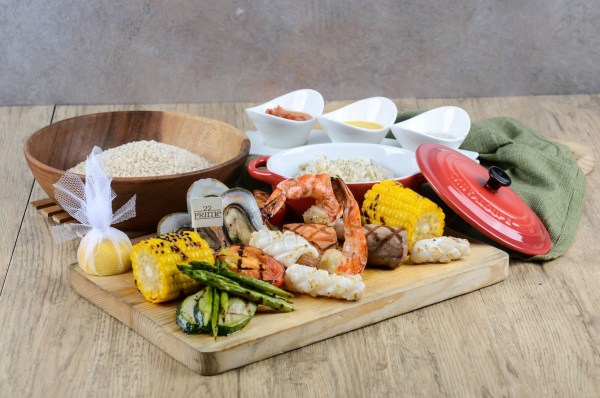 Grilled Mixed Seafood - Celebrate Mothers' Day at Discovery Suites Manila