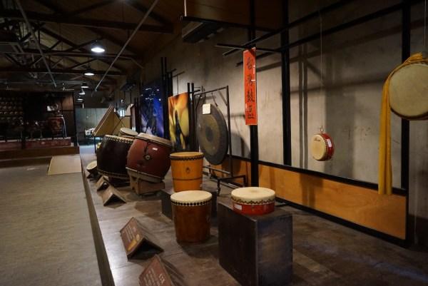 Inside Ten Drum Museum
