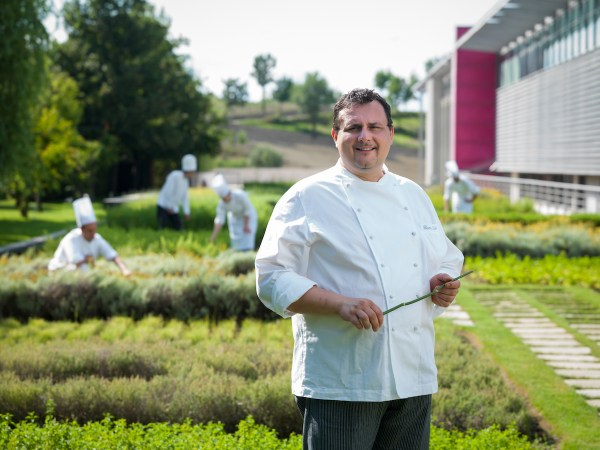 Michelin-starred Chef Paolo Barrale
