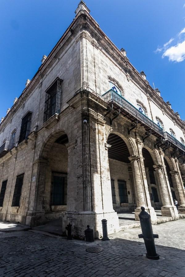 Old Building in Havana Vieja, Cuba