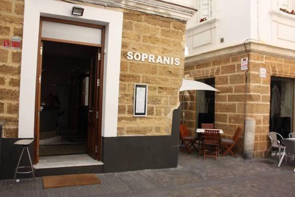 Restaurante Sopranis in Cadiz