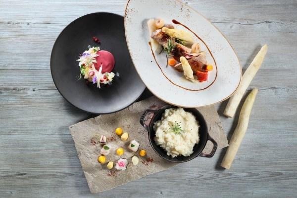 Summer Treat – White Asparagus at Cucina Hong Kong