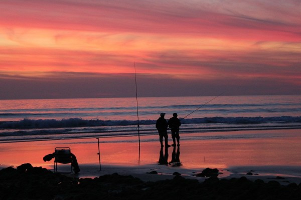 Sunset in Cadiz Spain