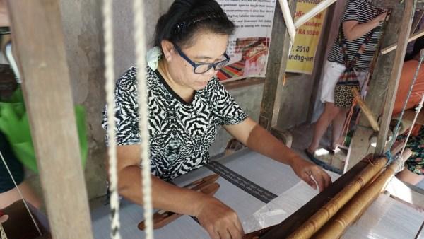 The art of Hablon weaving in Iloilo
