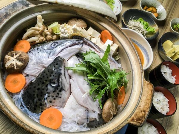 This delectable seafood hotpot is Kitsho's special set menu for Father's Day.