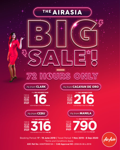 AirAsia Big Sale 2019