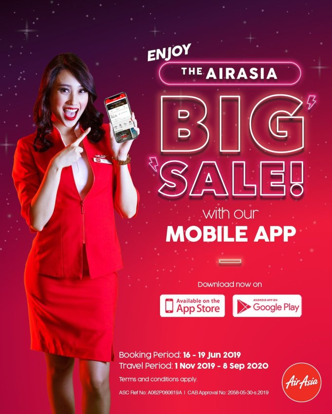 AirAsia Big Seat Sale 2019