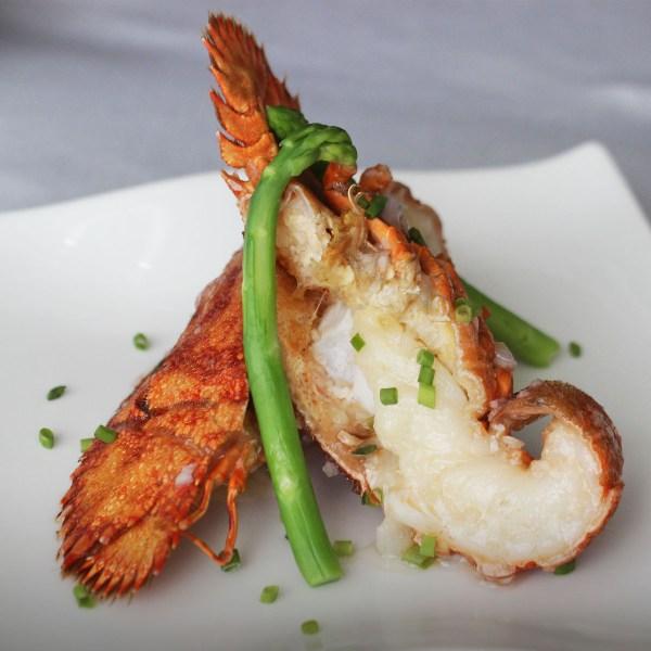 Baked Slipper Lobster - Cantonese Flavors