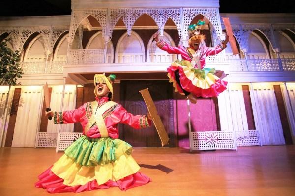 Cultural Performances inside Lakbay Museum