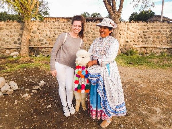 Isa Koller in Peru