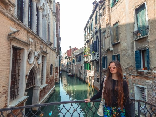 Isadora Koller in Venice