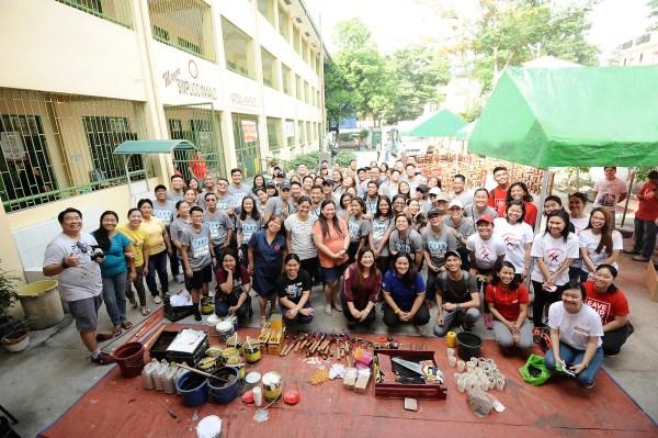 Starbucks Philippines Volunteer Activity