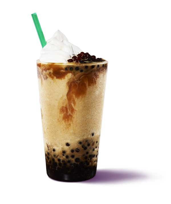 Ultra Caramel Coffee Sphere Frappuccino